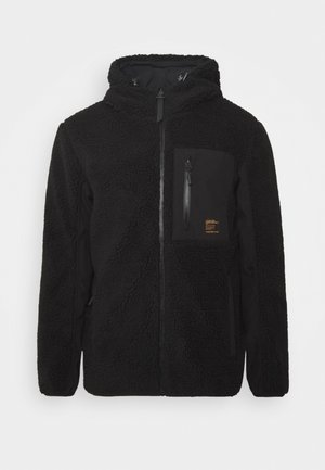 ALPINE SHERPA MID LAYER - Giacca in pile - black
