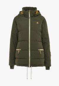 Burton - KEELAN  - Snowboardová bunda - olive - 7