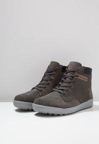 Lowa - DUBLIN III GTX - Zimní obuv - anthrazit - 2