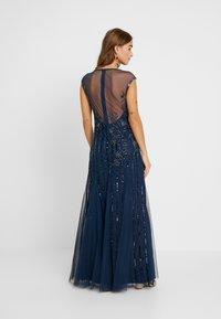 Lace & Beads Petite - MALIA MAXI - Společenské šaty - blue - 3