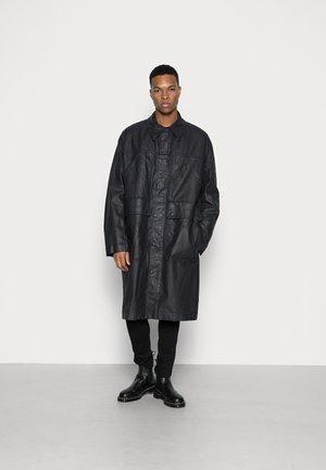 ROBERT - Classic coat - black