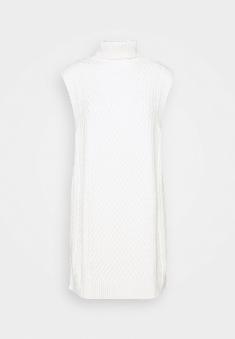 Selected Femme - SLFMALAJKA ROLLNECK  - Jumper - snow white