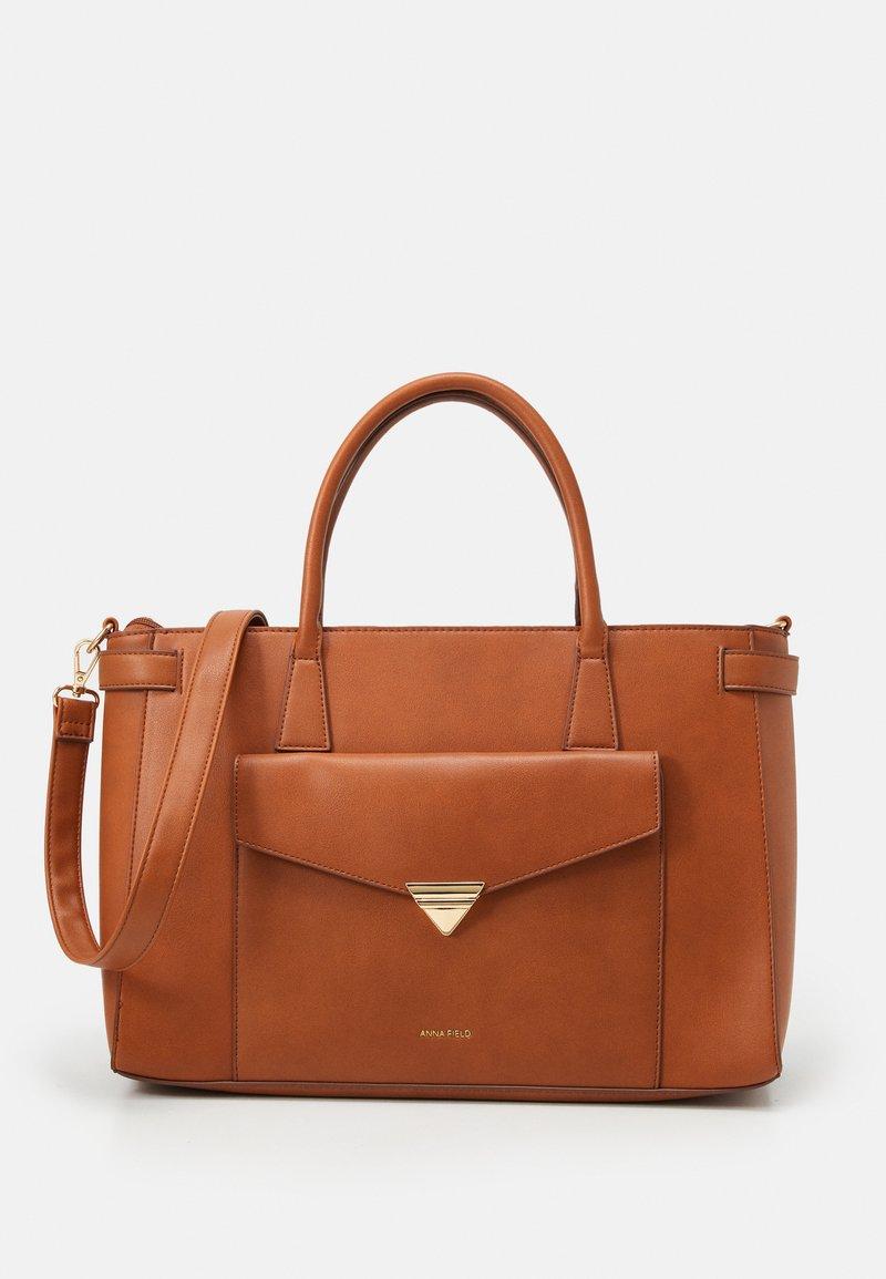 Anna Field - Laptop bag - cognac
