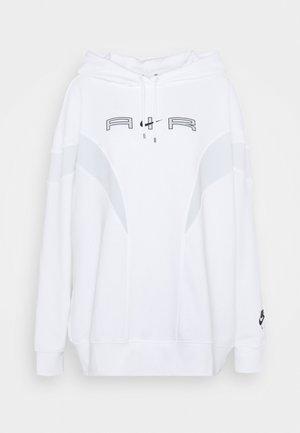 AIR HOODIE - Sudadera - white/pure platinum/black