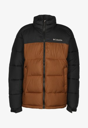 Winterjas - dark amber/ bla