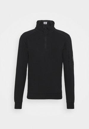 LIGHT QUARTER ZIP - Sweater - black