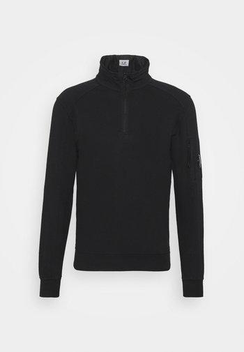 LIGHT QUARTER ZIP - Sweatshirt - black