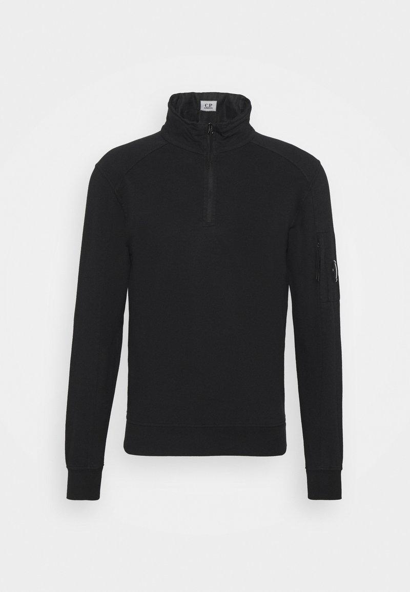C.P. Company - LIGHT QUARTER ZIP - Sweatshirt - black