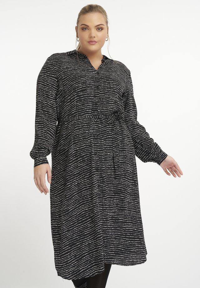 Robe chemise - multi-color