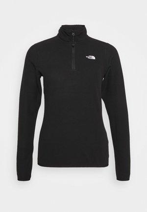 100 GLACIER 1/4 ZIP - Fleece jumper - black