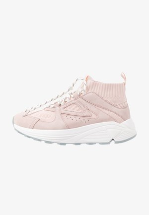 HORIZON RUNN - High-top trainers - rose
