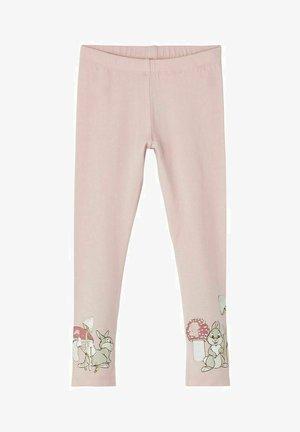 DISNEY - Leggings - Trousers - pale mauve