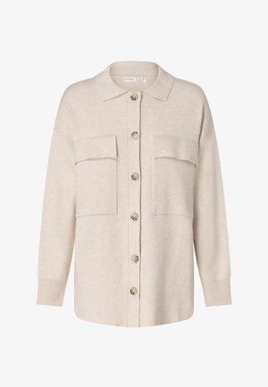 OVERSHIRT - Cardigan - beige