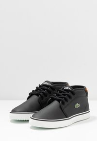 Lacoste - AMPTHILL - High-top trainers - black/brown - 3