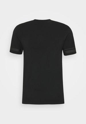 BONDED TAPE DETAIL SLIM FIT - T-shirt basic - black