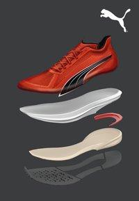 Puma - VELOCITY NITRO - Neutral running shoes - lava blast/black/silver - 5