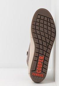 Candice Cooper - MID - Sneakers alte - choco/sabbia - 6