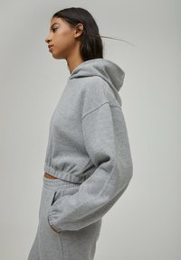 PULL&BEAR - Sweat à capuche - grey - 3