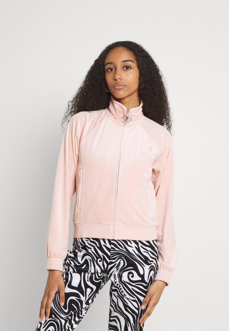 Juicy Couture - TANYA - Zip-up sweatshirt - pale pink