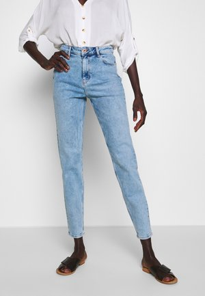 PCKESIA MOM  - Slim fit jeans - light blue denim