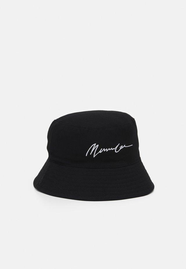 SIGNATURE BUCKET HAT SIGNATURE UNISEX - Hatt - black