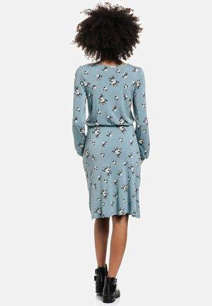 Day dress - blau allover
