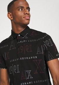 Armani Exchange - Polo shirt - black/red heritage - 3