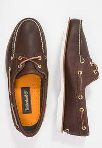 Timberland - Scarpe da barca - dark brown - 1