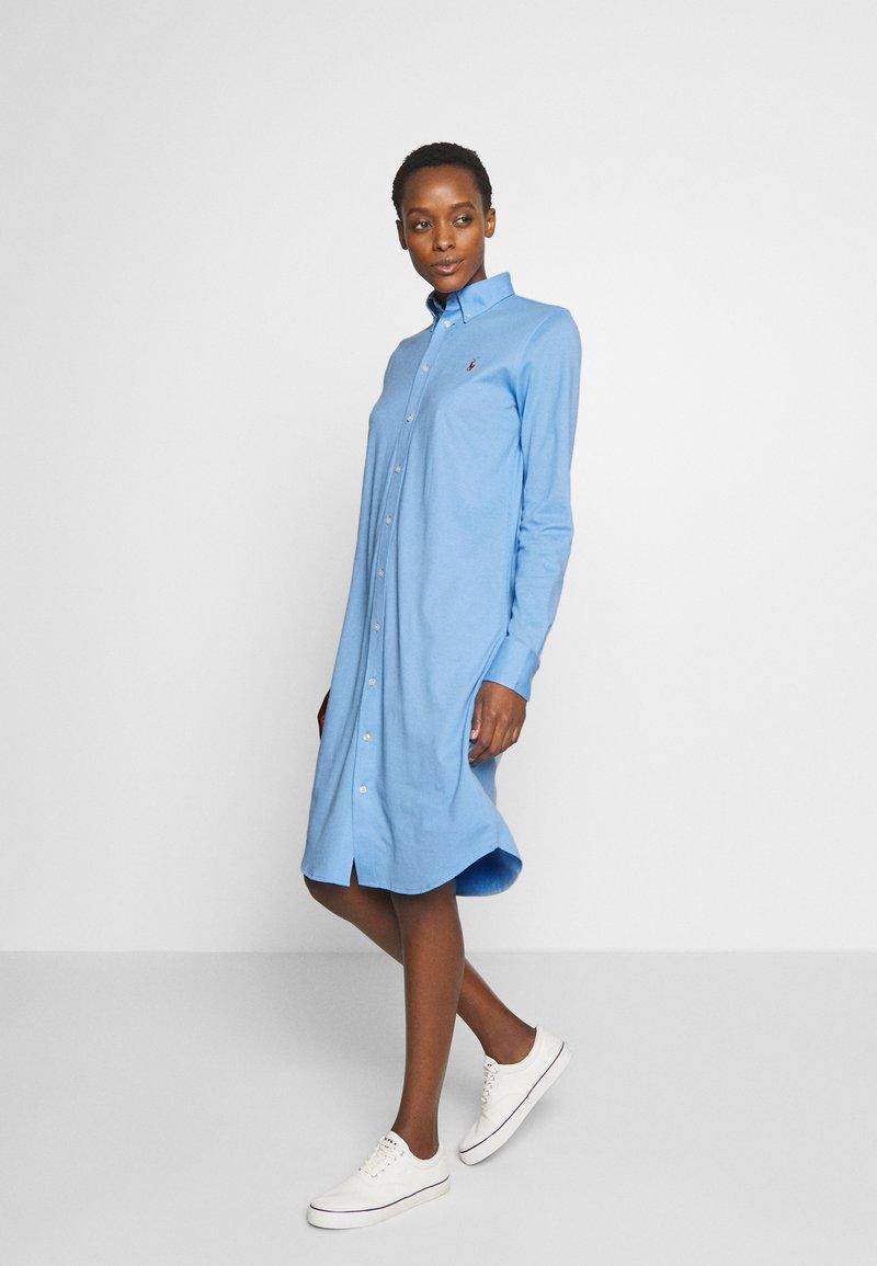 Polo Ralph Lauren - OXFORD - Vestido camisero - blue lagoon