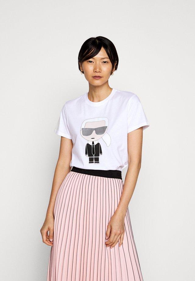 IKONIK - Camiseta estampada - white