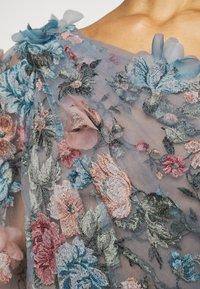 Marchesa - OFF THE SHOULDER GOWN - Společenské šaty - smokey blue - 7