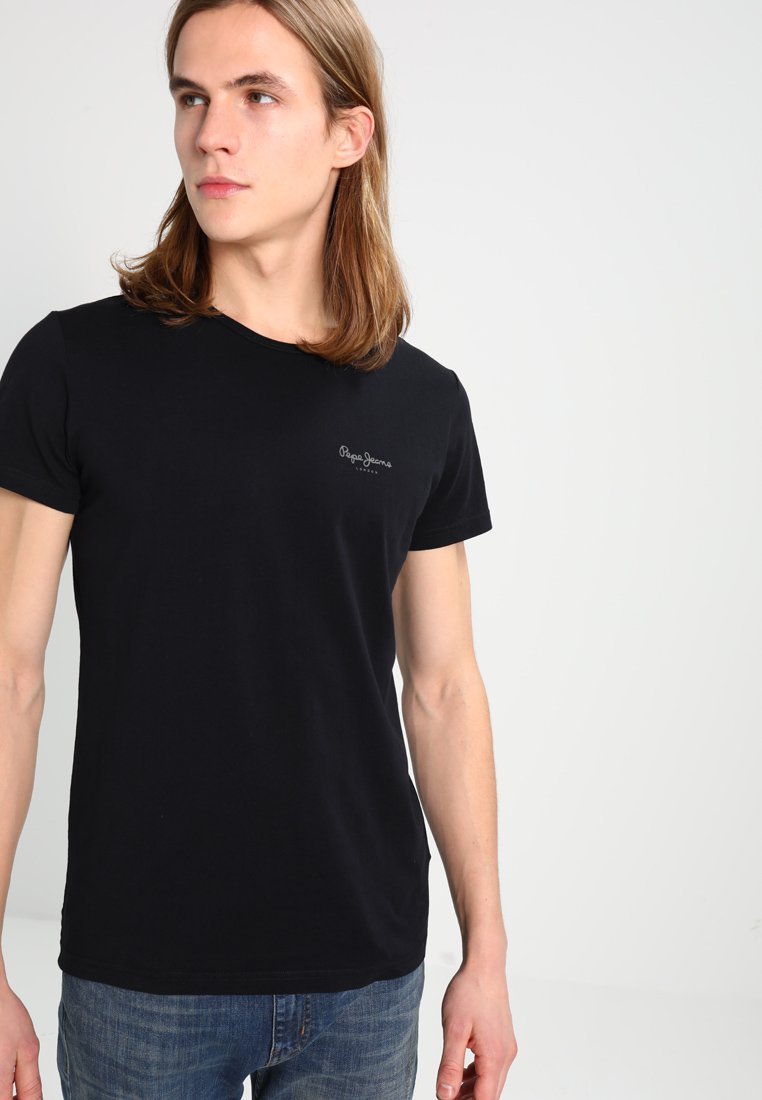 Pepe Jeans - ORIGINAL BASIC - Camiseta básica - black