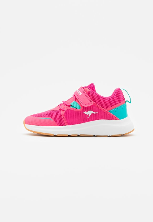 KB-RACE - Tenisky - daisy pink/turquoise