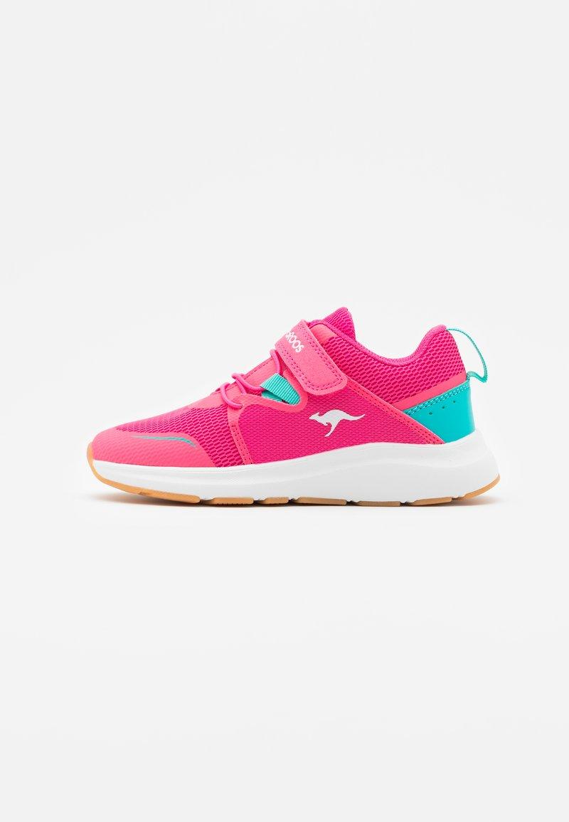 KangaROOS - KB-RACE - Trainers - daisy pink/turquoise