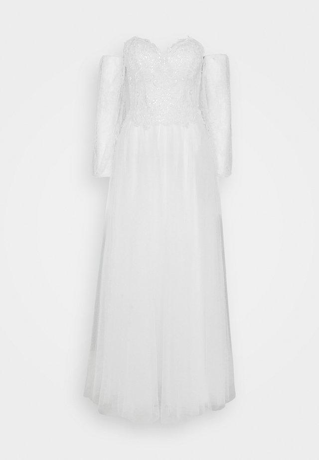 Festklänning - ivory/nude