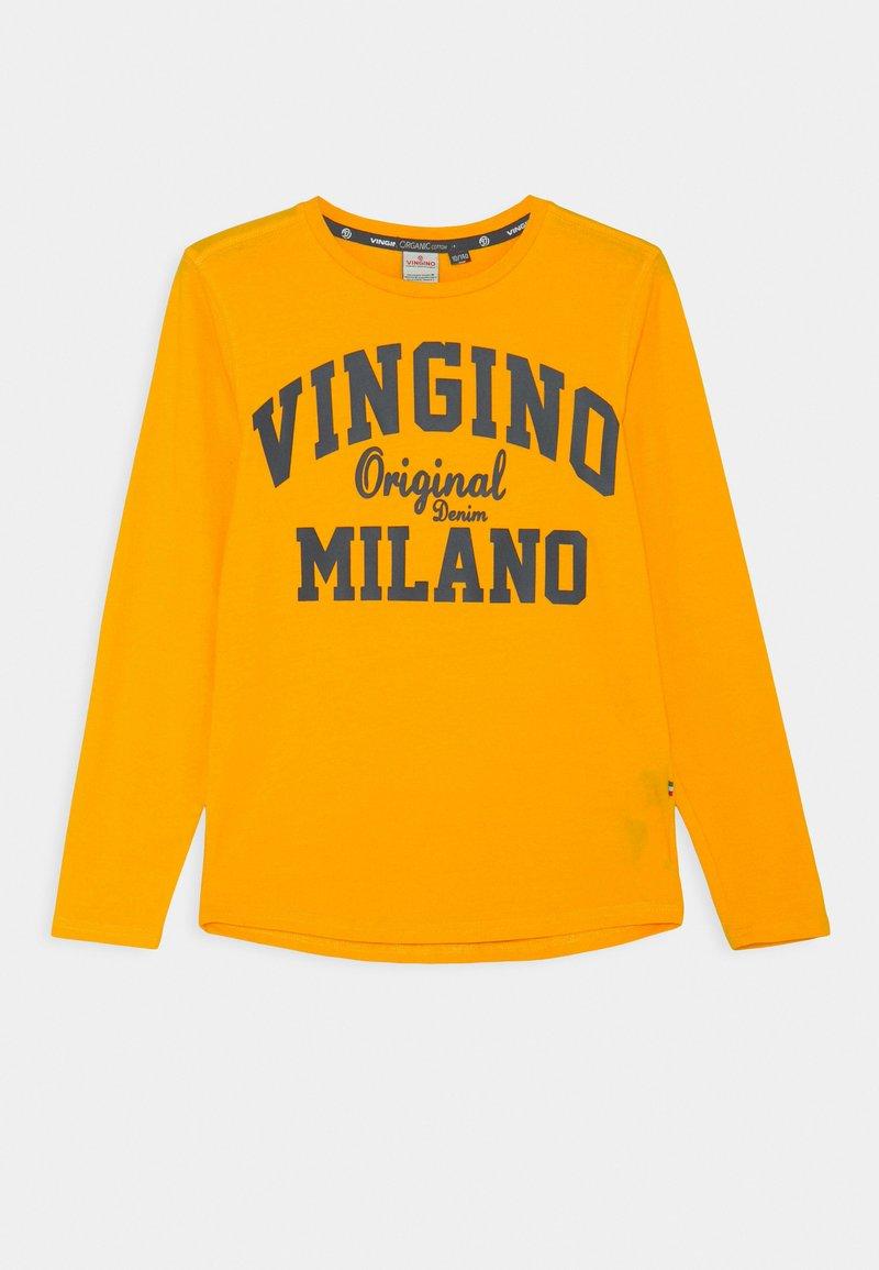 Vingino - LOGO - Top sdlouhým rukávem - gold yellow
