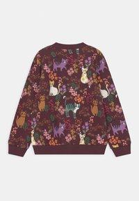 Lindex - MINI CATS - Zip-up sweatshirt - dark lilac - 1