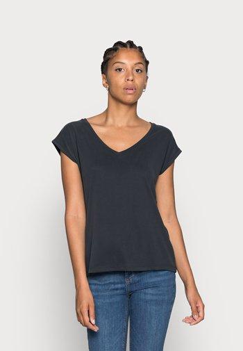 PCKAMALA TEE NOOS BC - T-shirts - black