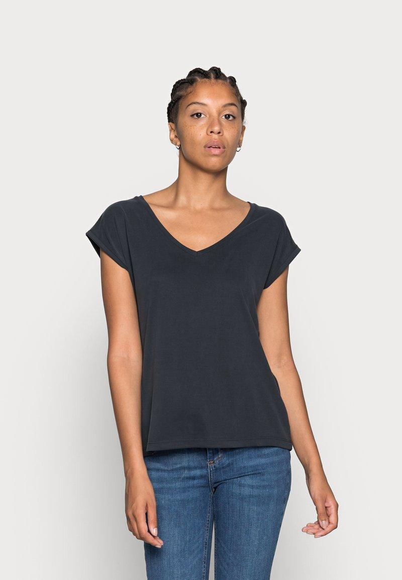 Pieces - PCKAMALA TEE NOOS BC - T-shirts - black