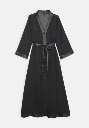 MARCELLA LONG KIMONO - Dressing gown - black