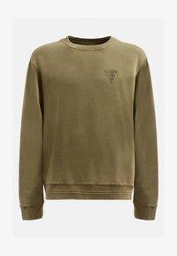 Guess - PATCH LOGO - Sweatshirt - grün - 3