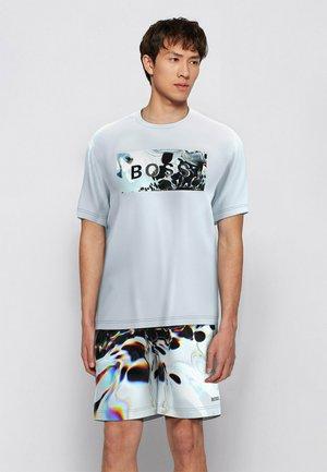TDIGITAL - T-shirt con stampa - white