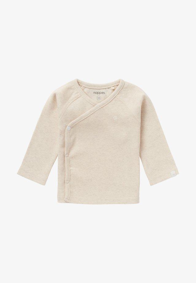 NANYUKI - Long sleeved top - offwhite