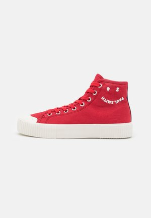 KIBBY - High-top trainers - red