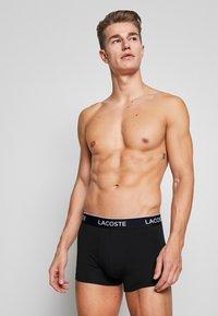 Lacoste - 3 PACK - Underkläder - black - 1