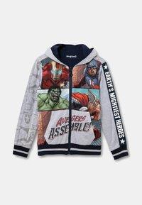 Desigual - MARVEL - Zip-up sweatshirt - black - 4