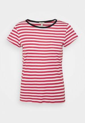 CAP SLEEVE - T-shirt z nadrukiem - blush