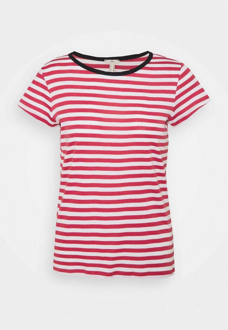 edc by Esprit - CAP SLEEVE - Print T-shirt - blush