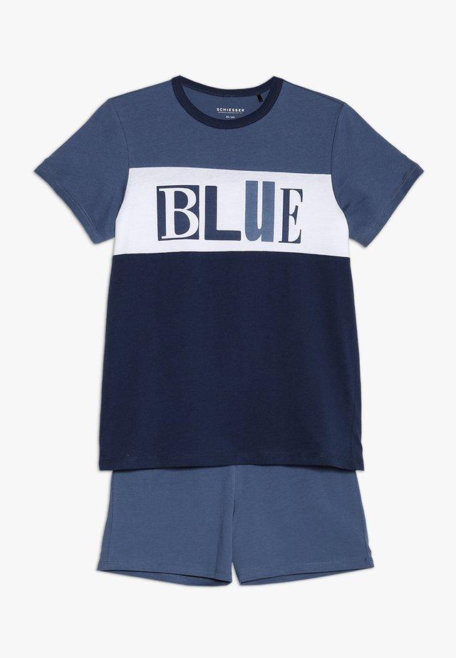 KURZER SCHLAFANZUG JUNGS - Pyjamas - jeansblau