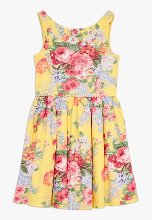 FIT DRESSES - Day dress - yellow multi